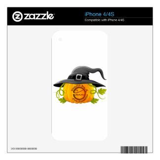 Pumpkin Logo 2016 Decals For iPhone 4