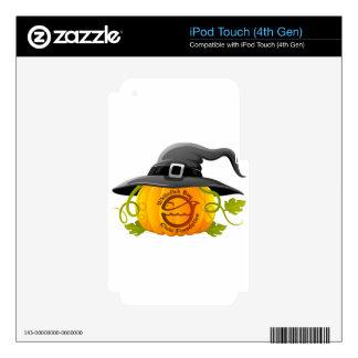 Pumpkin Logo 2016 Decals For iPod Touch 4G