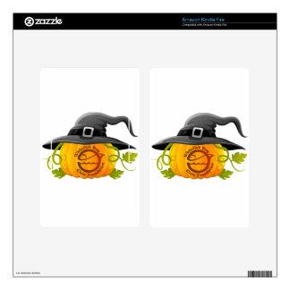 Pumpkin Logo 2016 Kindle Fire Decal
