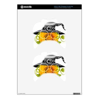 Pumpkin Logo 2016 Xbox 360 Controller Skins