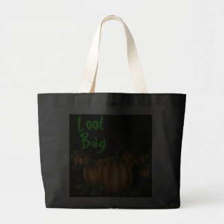 PUMPKIN  LOOT BAG 2 by SHARON SHARPE