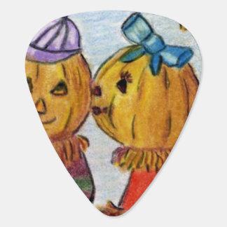 Pumpkin Love Guitar Pick