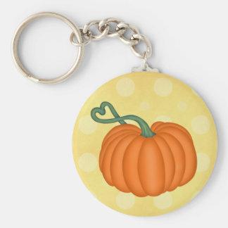 Pumpkin Love Keychain