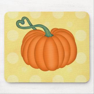 Pumpkin Love Mouse Pad
