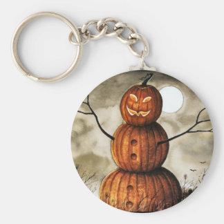 Pumpkin Man Keychain