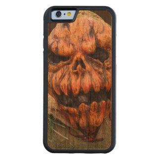 Pumpkin Man, Run Away - Photograph Carved Cherry iPhone 6 Bumper Case