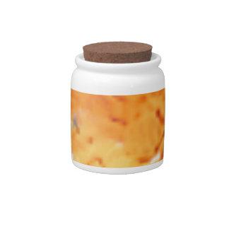 pumpkin mash candy dish