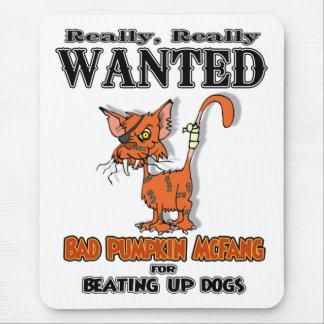 Pumpkin McFang Mouse Pad