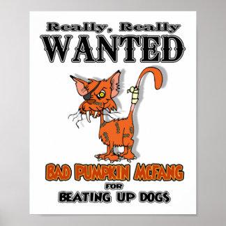 Pumpkin McFang Poster