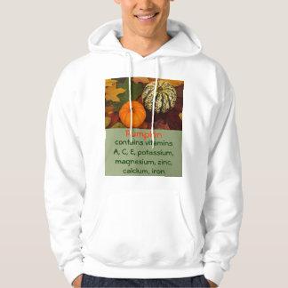 pumpkin mens hoodie