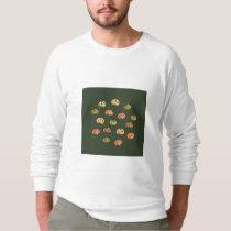 Pumpkin Men's Raglan Sweatshirt