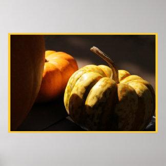 Pumpkin Mini Me Poster