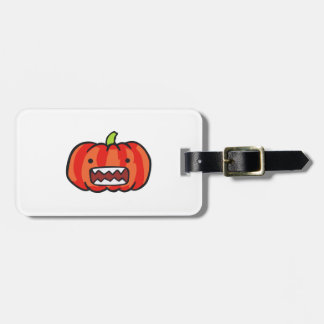 PUMPKIN MONSTER TAG FOR BAGS