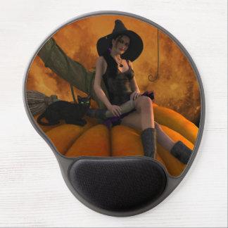 Pumpkin Moon Gel Mouse Pad