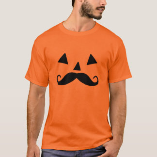 Pumpkin Moustache T-Shirt