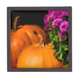Pumpkin Mums Gift Box
