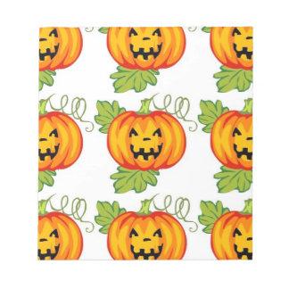 Pumpkin Memo Note Pad