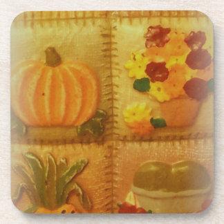 pumpkin October Halloween coaster