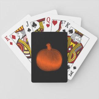Pumpkin Poker Deck
