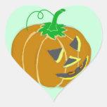 Pumpkin of love sticker
