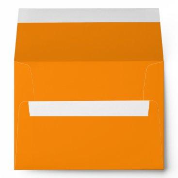 Valentines Themed Pumpkin Orange Creepy Hollow Halloween Envelope