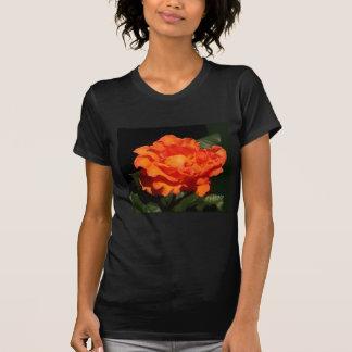 """""""Pumpkin Orange Rose"""" Shirt"""