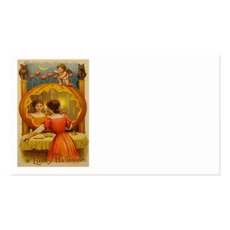Pumpkin Owl Apple Cupid Divination Black Cat Business Card