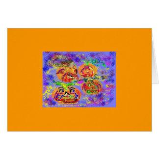 Pumpkin Pack Card