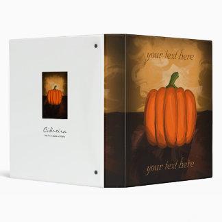 Pumpkin Painting 3 Ring Binder