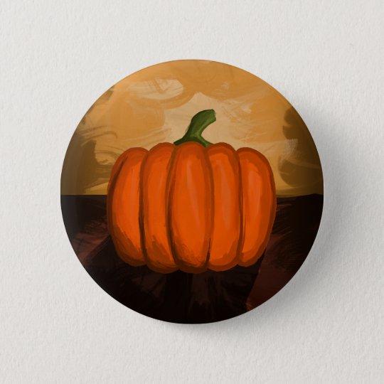 Pumpkin Painting Button
