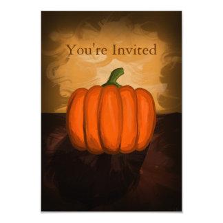 Pumpkin Painting Invitations