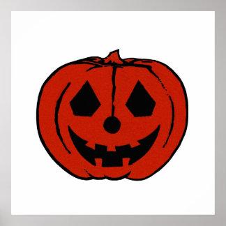 PUMPKIN PAL (Halloween Jack-O-Lantern) ~~ Poster
