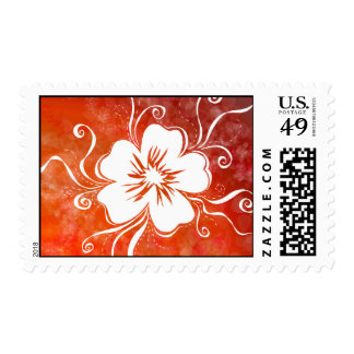 Pumpkin Pansy Stamp