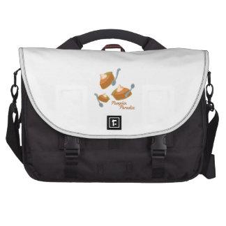 Pumpkin Paradise Laptop Messenger Bag
