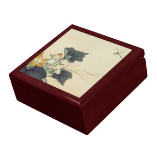 Pumpkin Patch and Dragonfly Keepsake Box
