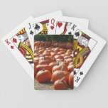 Pumpkin Patch Autumn Harvest Photography Playing Cards