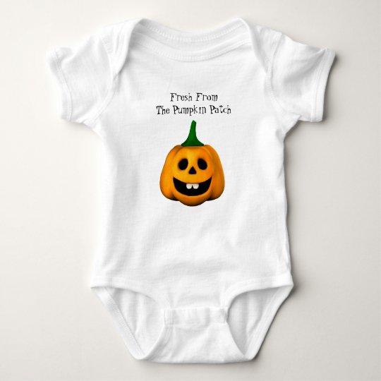 Pumpkin Patch Baby Crawler Shirt
