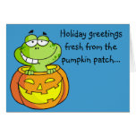 Pumpkin Patch Baby Frog Cards