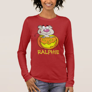 Pumpkin Patch Baby Rat (or Mouse) Long Sleeve T-Shirt