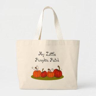 Pumpkin Patch Canvas Bags