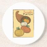 Pumpkin Patch Beverage Coasters
