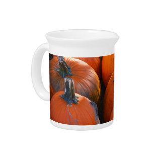 Pumpkin Patch Beverage Pitcher