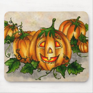 PUMPKIN PATCH by SHARON SHARPE Mouse Pad