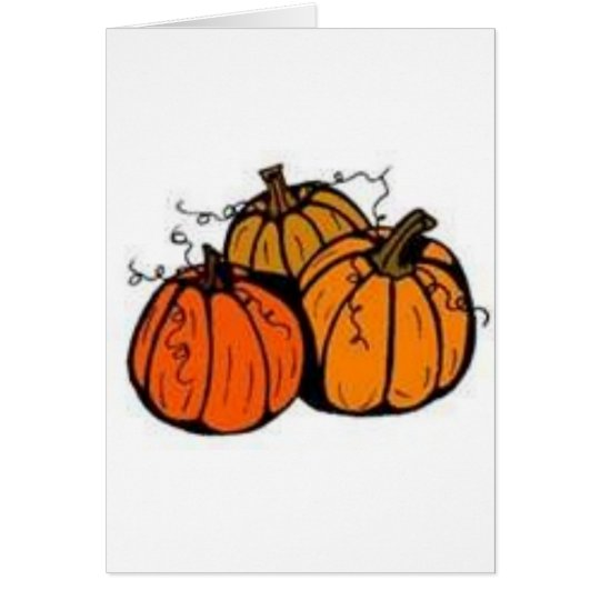 pumpkin patch card