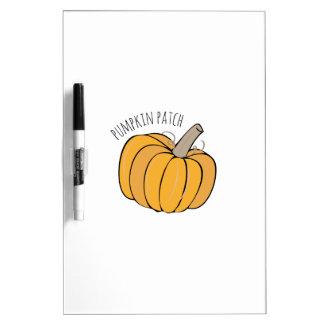 Pumpkin Patch Dry-Erase Board