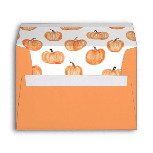Pumpkin Patch Envelope