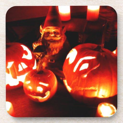 Pumpkin Patch Gnome I Coasters