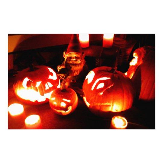Pumpkin Patch Gnome I Stationery