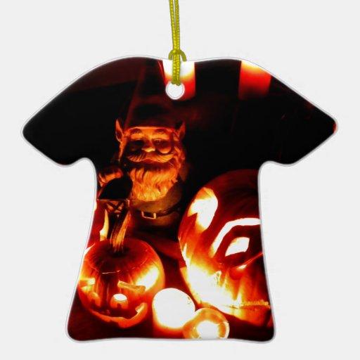 Pumpkin Patch Gnome III Christmas Ornament