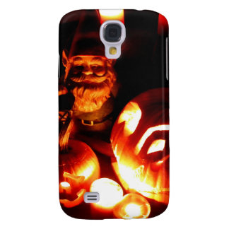 Pumpkin Patch Gnome III Galaxy S4 Cover
